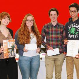 """Weinheim: Zweiter Platz in Berlin für Jungredakteure der """"Schiffsschraube"""""""